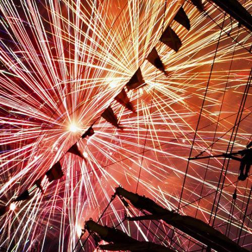 Fireworks Boat